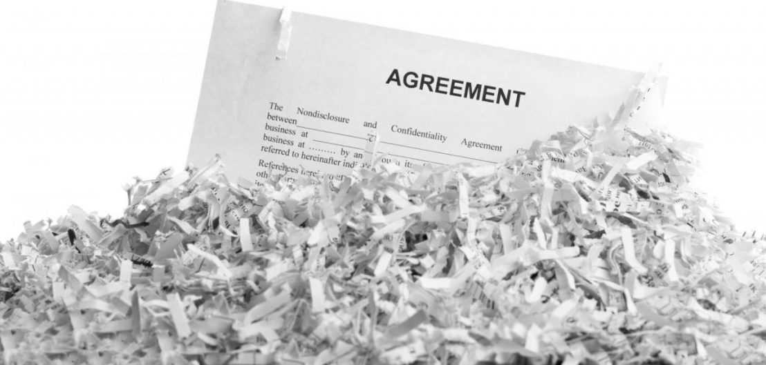 New Jersey Bill Set To Shred Employment-Related NDAs